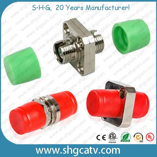Sc FC LC St Mu MTRJ Fiber Optical Adaptor