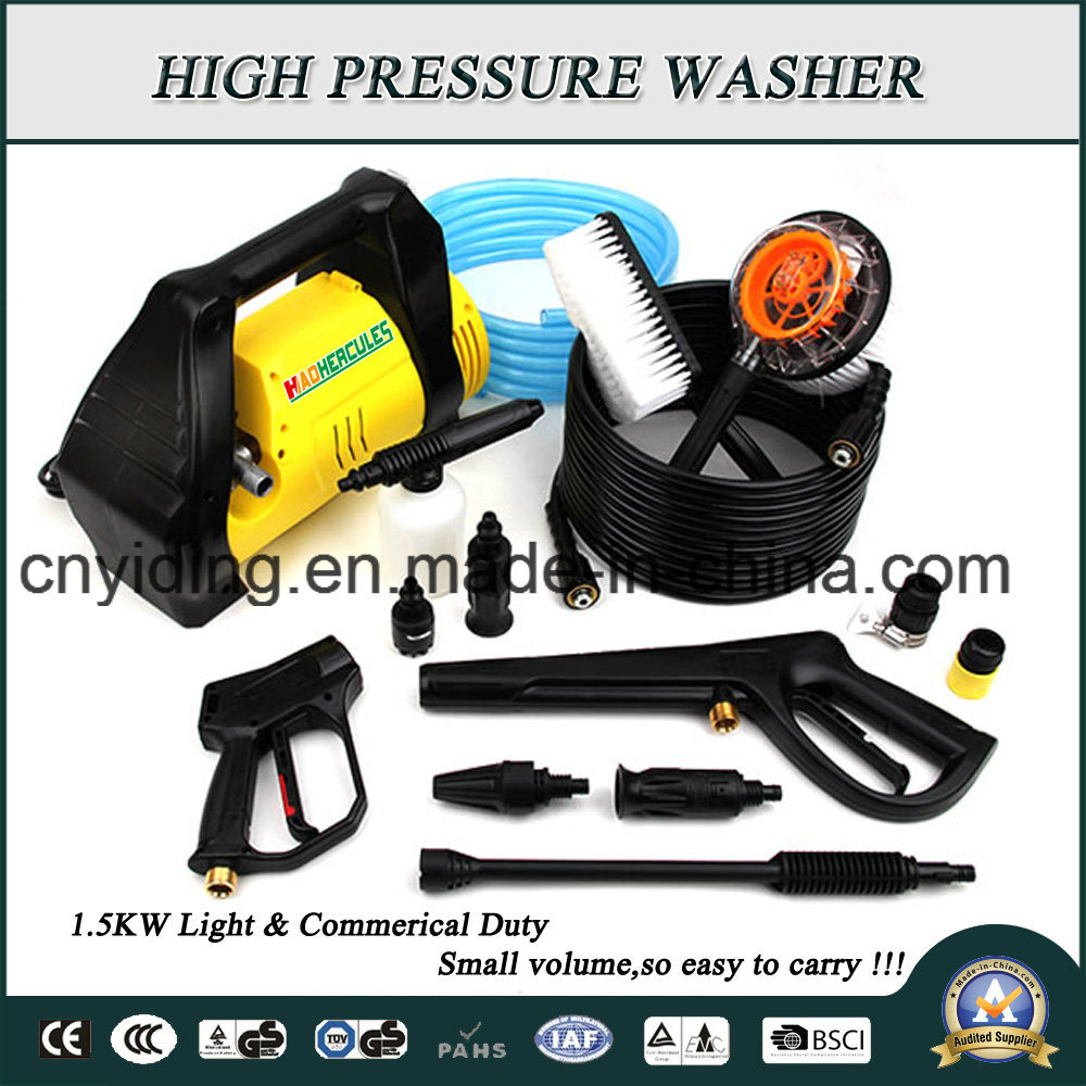 120bar 7L/Min 1.5kw Electric Pressure Washer (HPW-DTE1207DC)