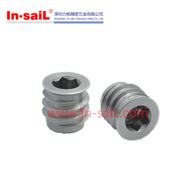 Internal Hexagon Threaded Self-Tapping Threaded Insert