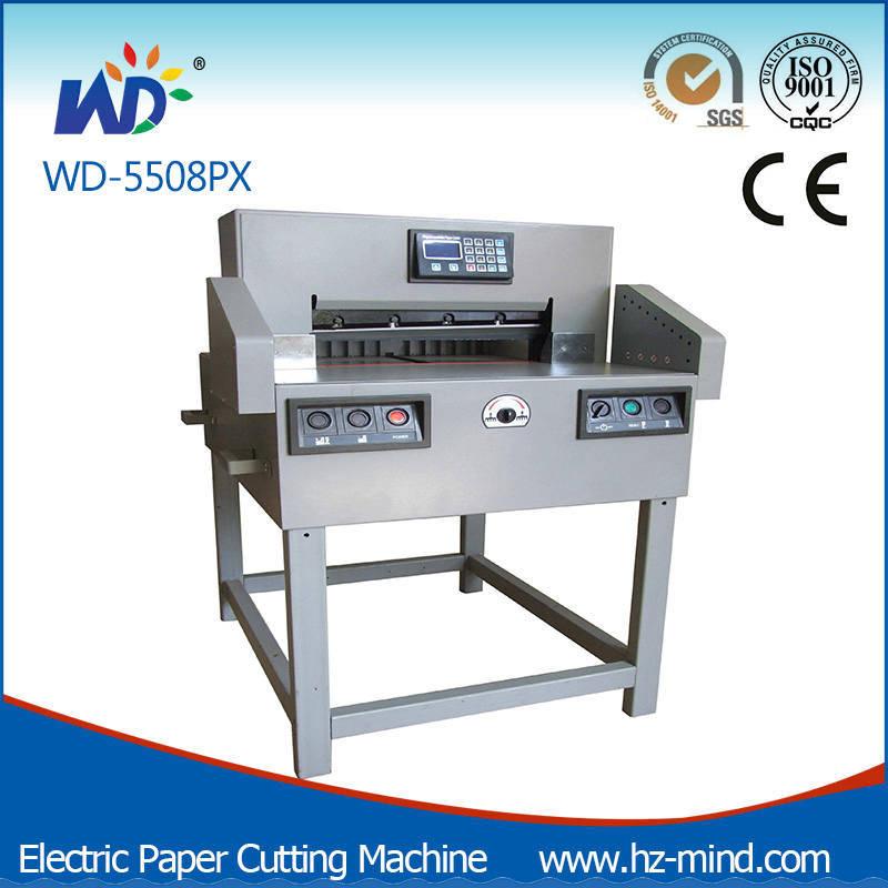 Professional Manufacturer (WD-5508PX) Heavy-Duty Numerical-Control Paper Cutting Machine