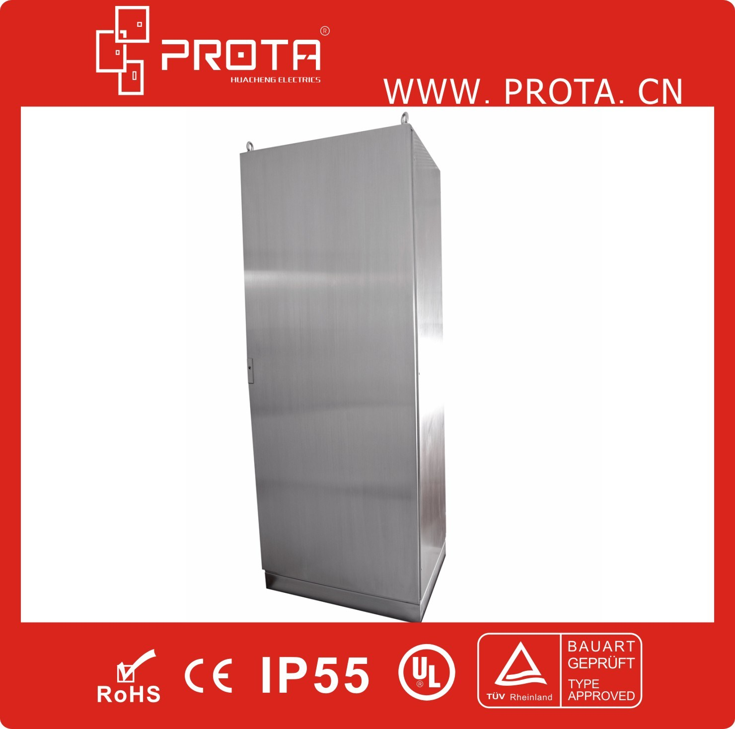 Stainless Steel Floor Standing Power Control Electric Cabinets