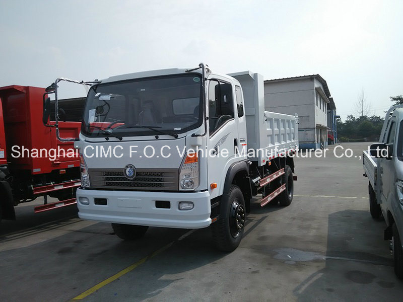 Sinotruk Cdw 737series Automatic Small Light Duty Mini Cargo Tipping Dumper Lorry Tipper Dump Truck