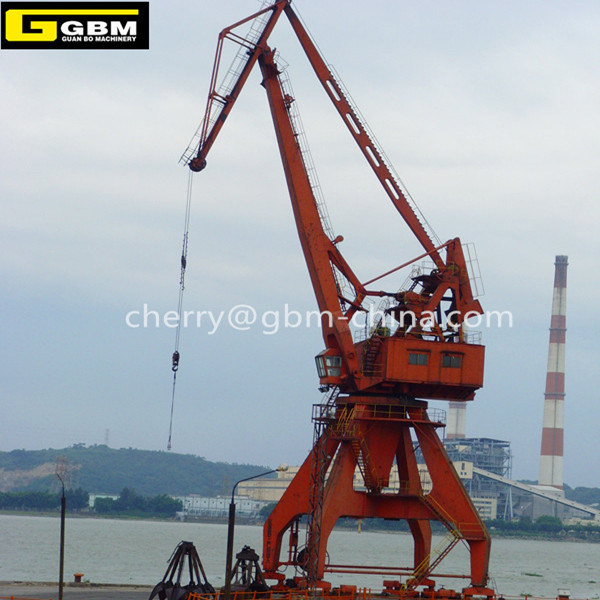 Portal Crane Rail Mounted Port Crane Mobile Harbor Crane