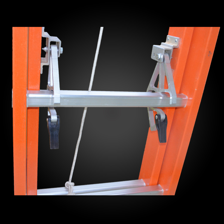 High Strength Insulated Fiberglass Telescopic Rope Ladder