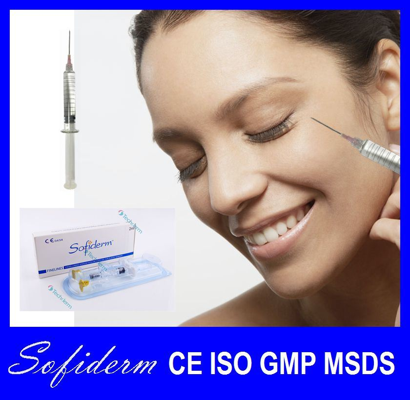 Sofiderm Good Effect Injectable Hyaluronic Acid Dermal Filler Finelines 1ml