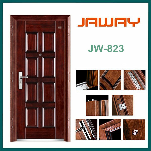 Eight Squares Design Entrance Door