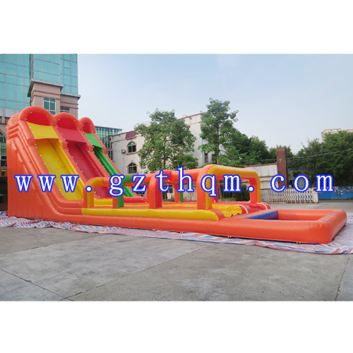 Funny Giant Inflatable Water Slide for Kids and Adults/Inflatable Hippo Slide