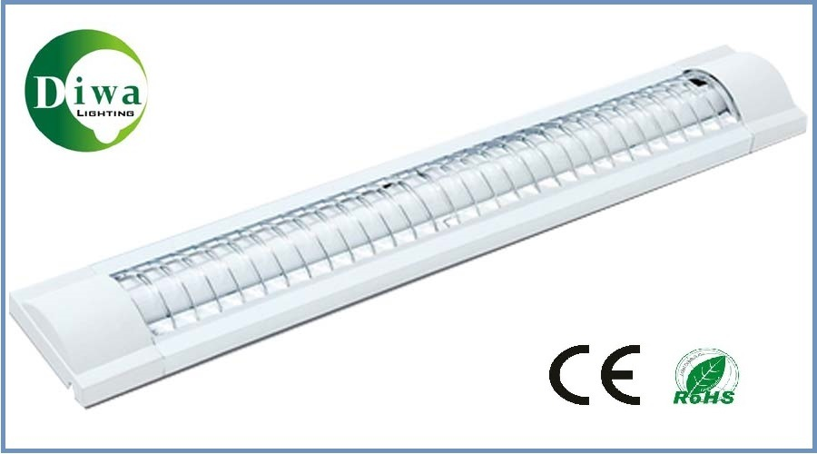 T8 Fluorescent Lighting Fitting, CE, RoHS, IEC, SABS Approved, Dw-T8cgp3