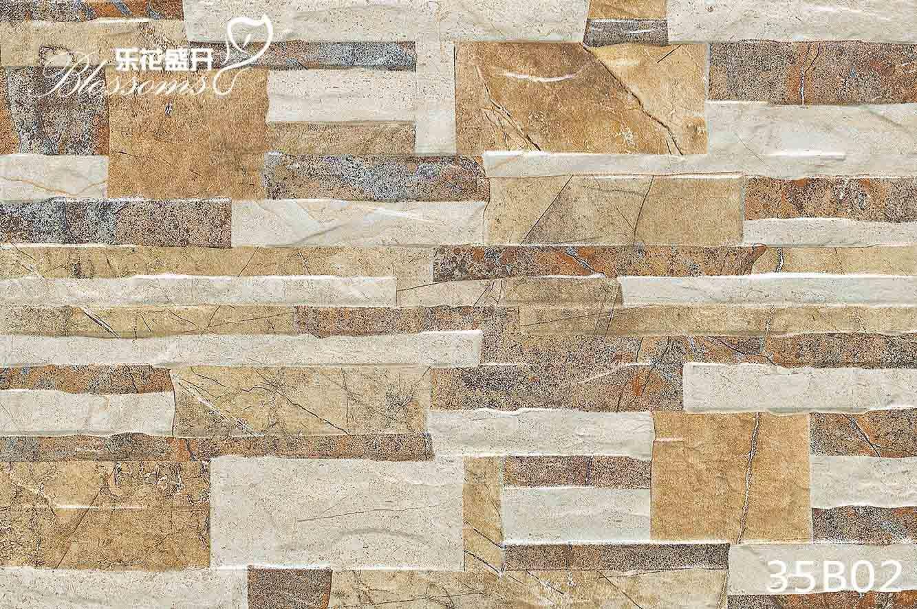 Exterior Ceramic Wall Culture Stone Tile for Villa (333X500mm)