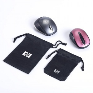 Polyester Drawstring Pouch for Mouse