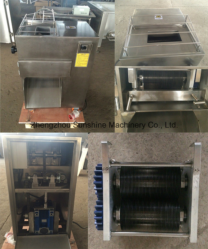 China Chicken Breast Meat Slicer Meat Cutting Machine