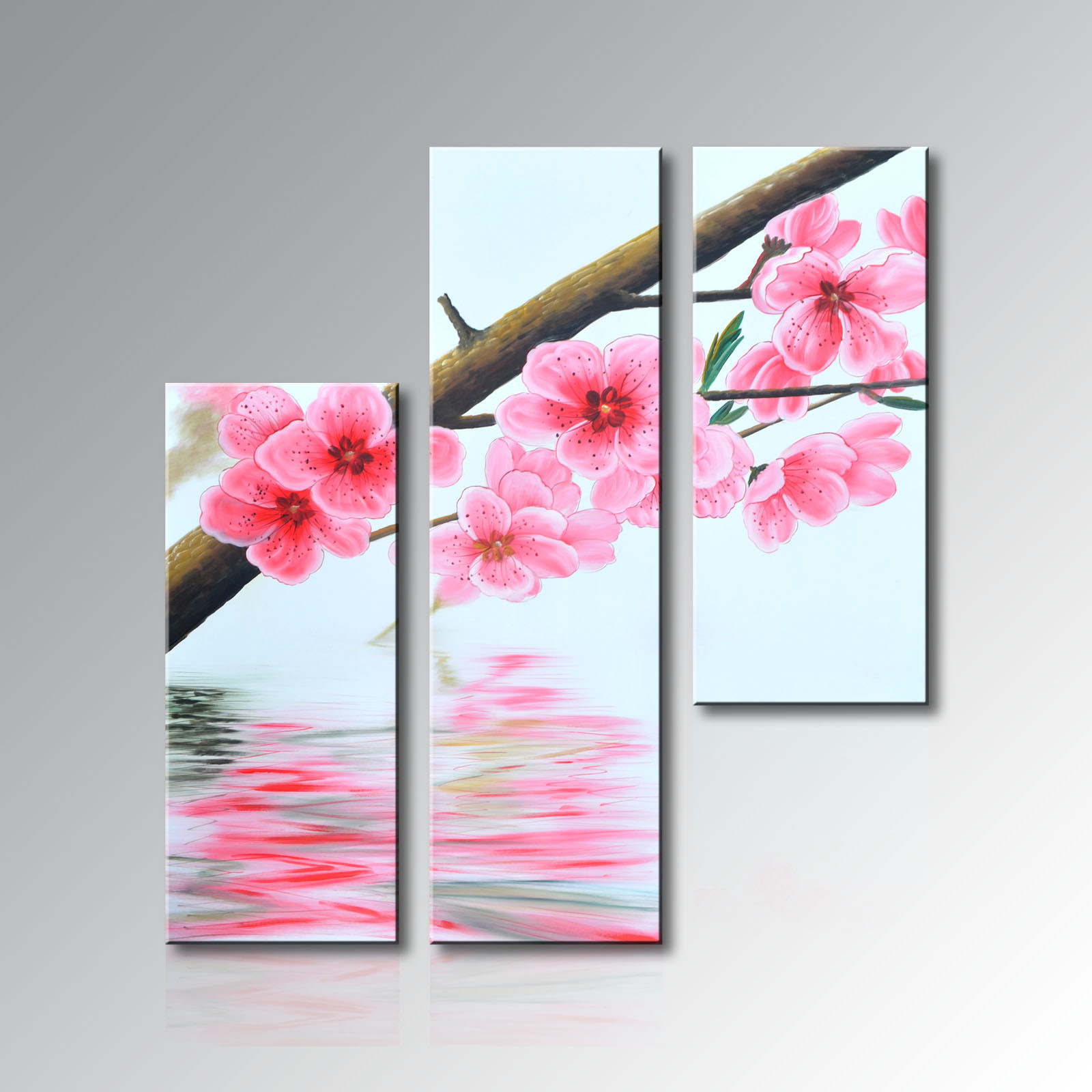 Handmade Realistic Flower Oil Painting on Canvas