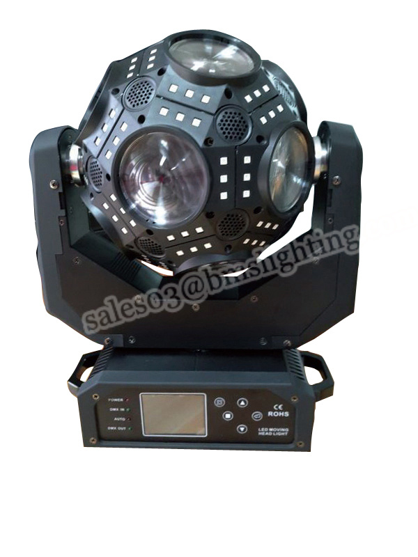 LED Cosmopix Moving Head Ball Light