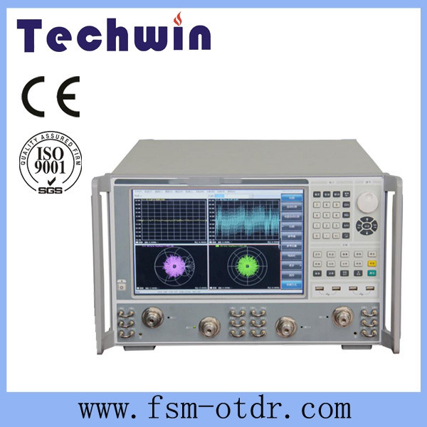 Techwin Vector Network Analyzer Equal to Rohde &Schwarz Network Analyzer