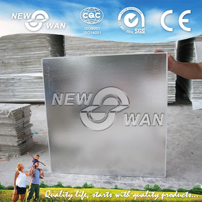 PVC Laminated Aluminum Foil Back Ceiling Tiles