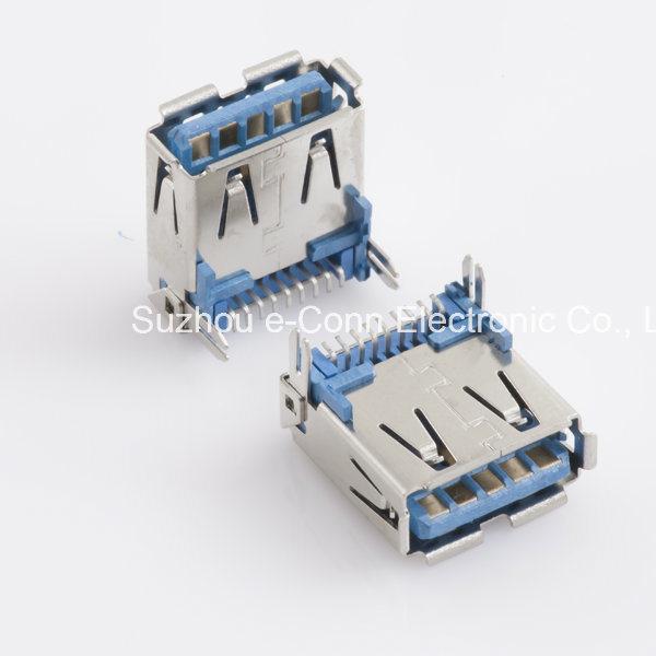 USB 3.0 Type ′a′, Right Angle, SMT, Receptacle, Usbx-A9fx-Xxm0-01
