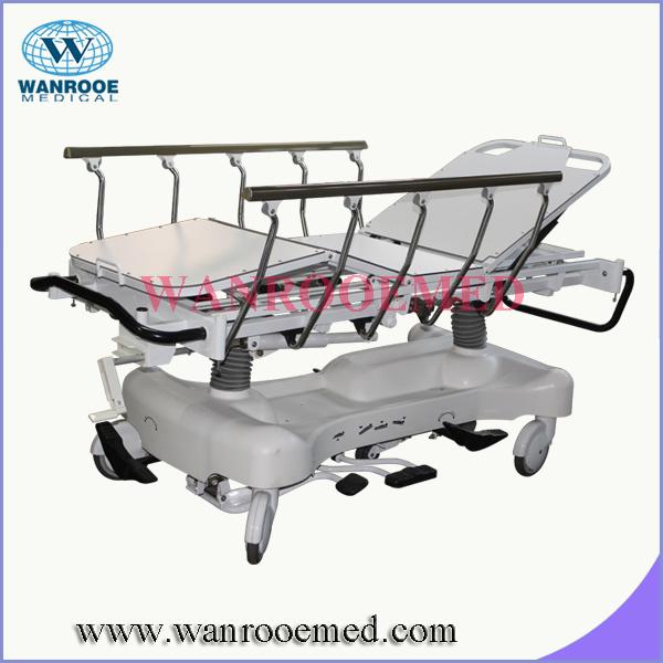 BAE517EC ICU Hospital Bed with Translational Side Rails