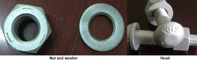 Grade 8.8 or 10.9 Alloy Steel High Strength Bolts
