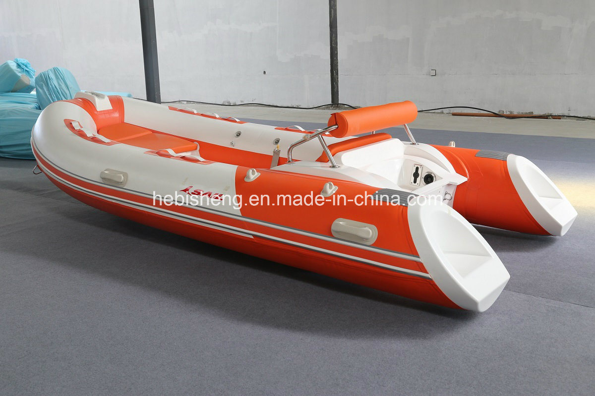 4m Hypalon Rib Boat (hot sell with SAIL outboards 15HP E-start)