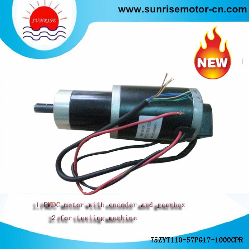 75zyt110-57pg17-1000CPR PMDC Motor Electric Motor