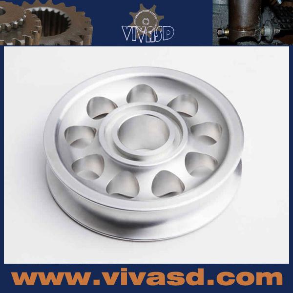 Customized Aluminum Auto Machining Parts Casting Metal Motor Spare Parts