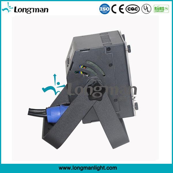 High Power CE 7*12W Rgbaw DMX LED Flat PAR Uplight for Stage