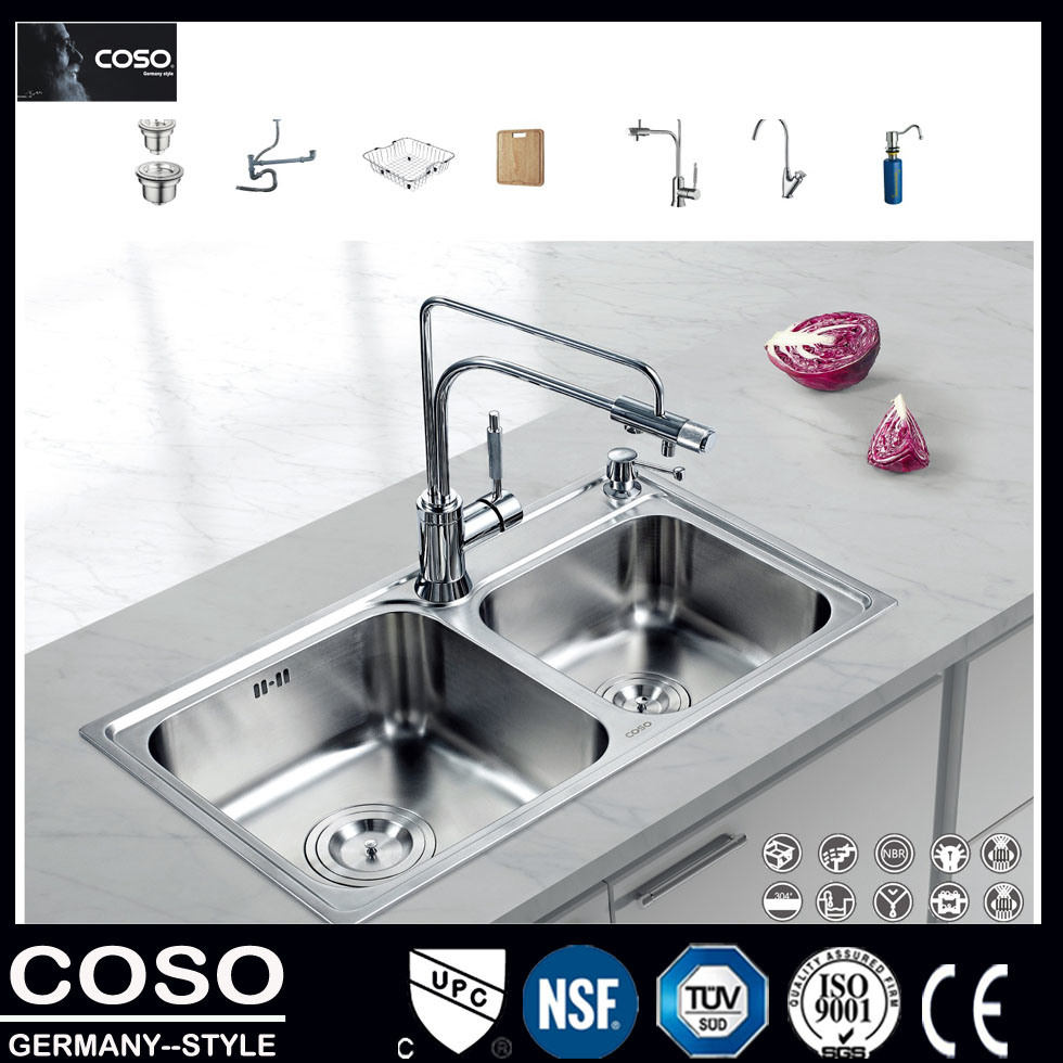 PVD 304 High Quality Stainless Steel Kitchen Sink