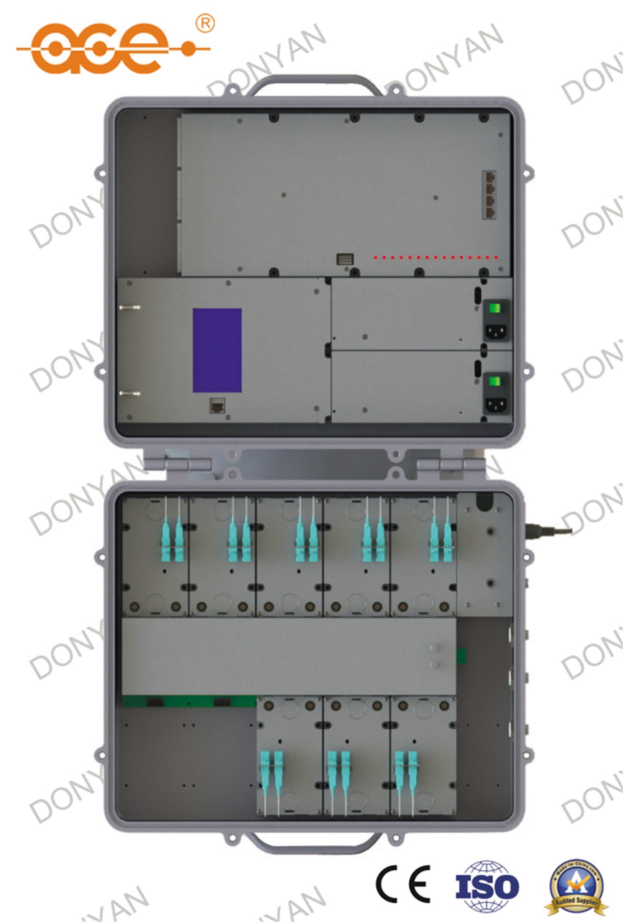 Vhe-03 Epon Outdoor Olt Virtual Headend for CATV FTTH Network