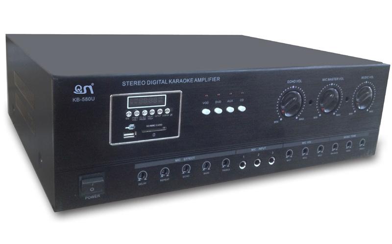 Kb-580u Professional AMP Karaoke Amplifier with FM and USB