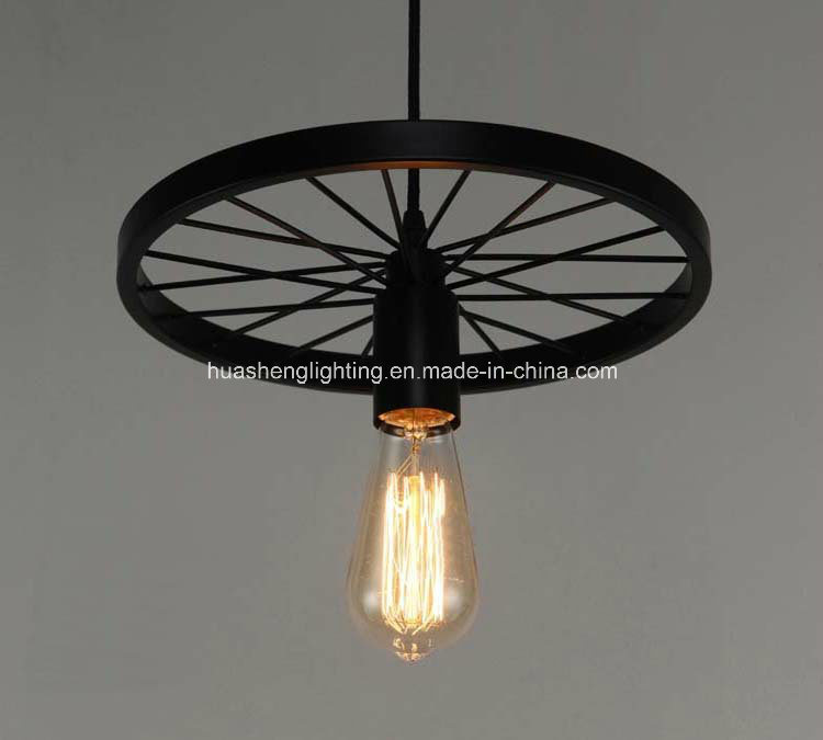 Retro-Style Wheel Pendant Lamp/Classical Pendant Light