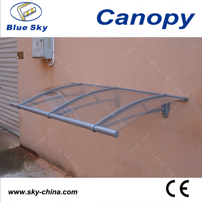 Easy Installation Aluminum Transparent Side Door Canopy (B900-2)