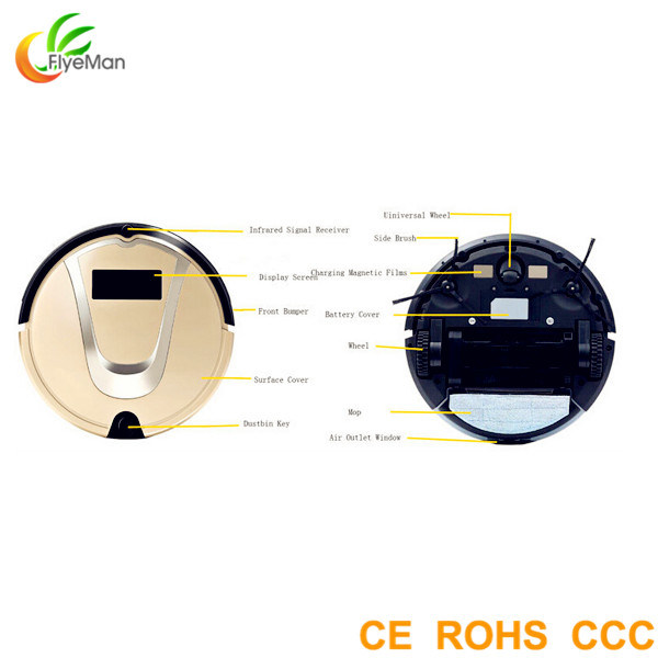 Self Cleaning Vacuum Cleaners Best Robot Cleaners with CE