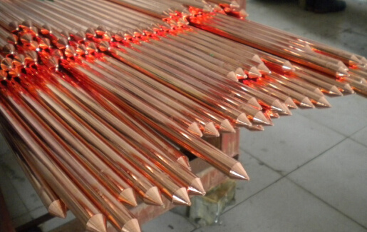 Earthing Rod, Grouding Rod, Earth Conductor, Copper Clad Earth Conductor, Earthing Ground Wire,