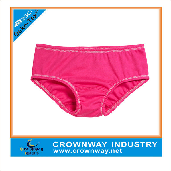 Young Soft Cotton Pretty Underwear for Girls