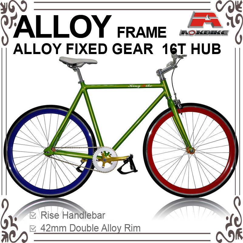 Alloy Frame Fixed Gear Track Bicycle (KB-700C-02)