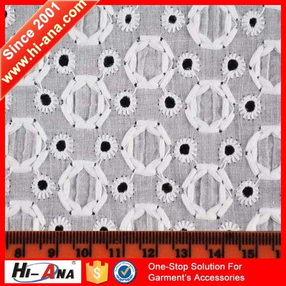 One to One Order Following Yiwu 100 Cotton Lace Fabric