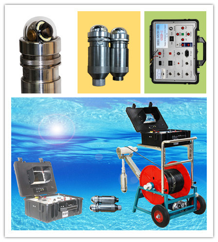Deep Underwater Camera, Water Well Camera, and Borehole Camera for Drilling Hole Inspection