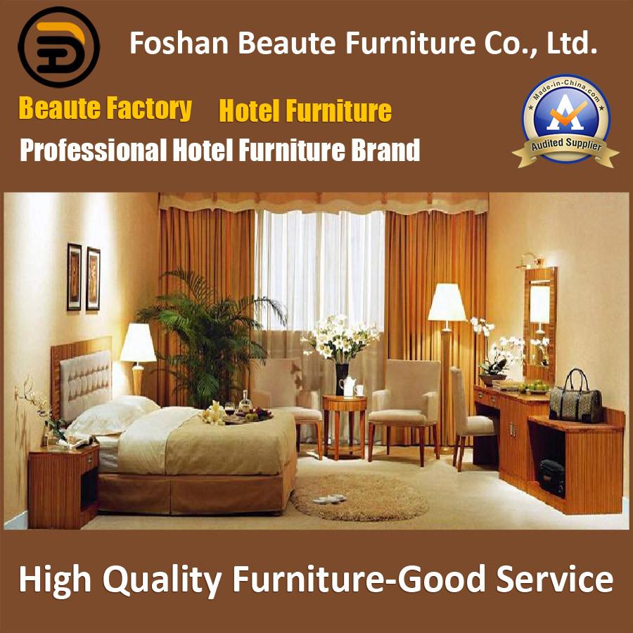 Hotel Furniture/Luxury King Size Hotel Bedroom Furniture/Restaurant Furniture/King Size Hospitality Guest Room Furniture (GLB-0109799)