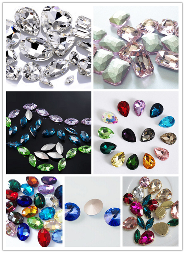 Fashion Crystal Fancy Sew on Stone for Decoration