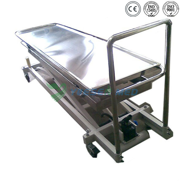Medical Mortuary Toom Stainless Steel Mortuary Lifter Corpse Mortuary