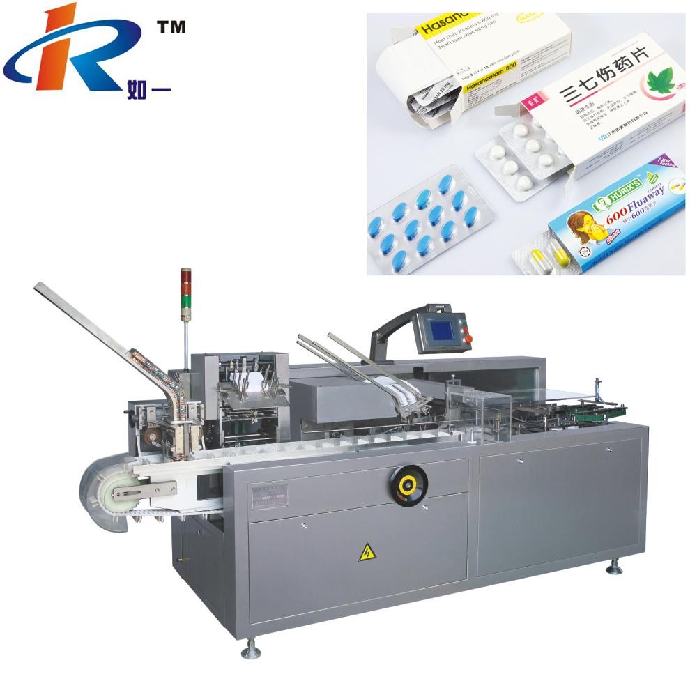 Zh120 Horizontal Automatic Pharmaceutical Blister Cartoning Machine