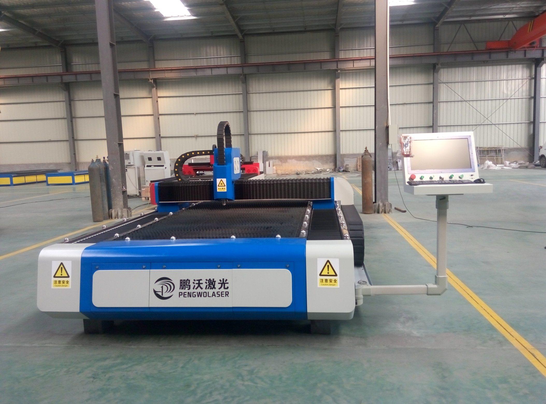 500W-3000W High Precision Laser Cutting Machine for Metal