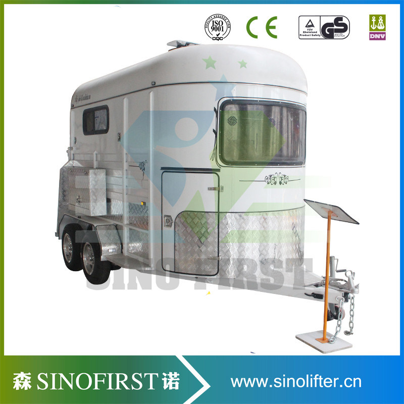 3 Horse Float Angle Load Horse Trailer