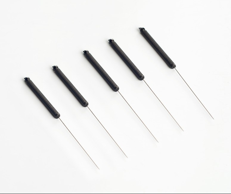Sterile Acupuncture Needles With Conductive Plastic Handles
