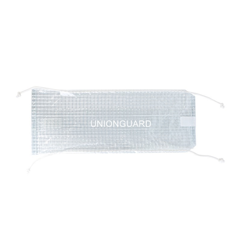 Clear Grid PVC Flange Spray Shields
