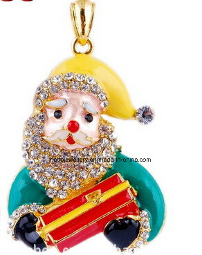 Christmas Jewelry/Christmas Necklace/Father Christmas (XJW13348)