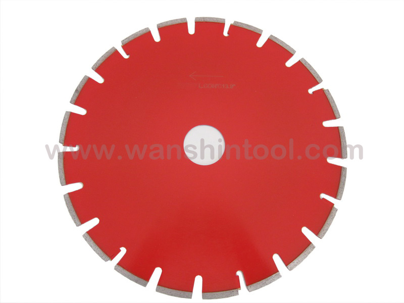 14'' Laser Concrete and Asphalte Cutting Saw Blade