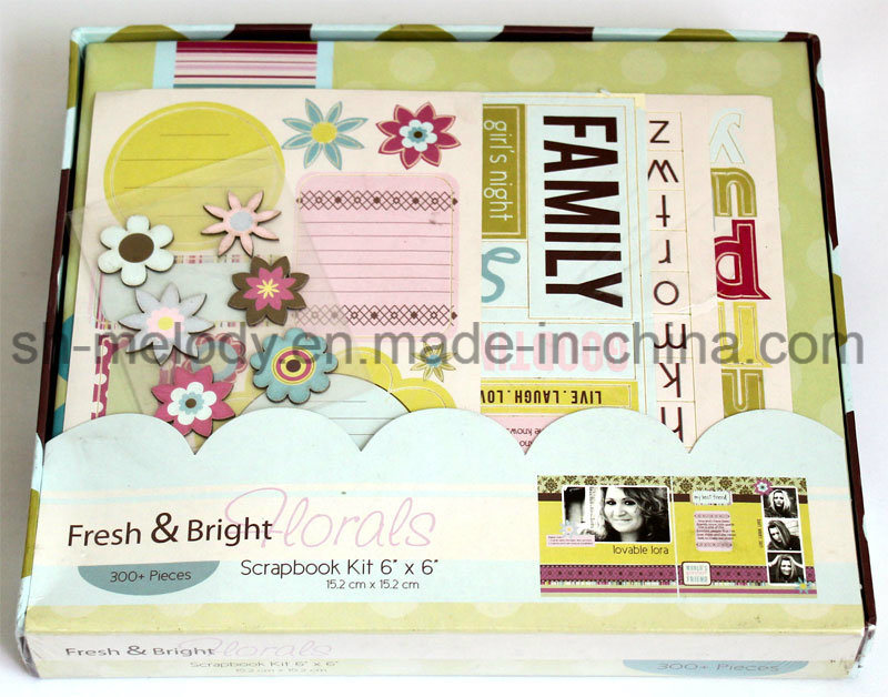 "Unique DIY Paper Crafts 6""X6"" Scrapbook Kit"