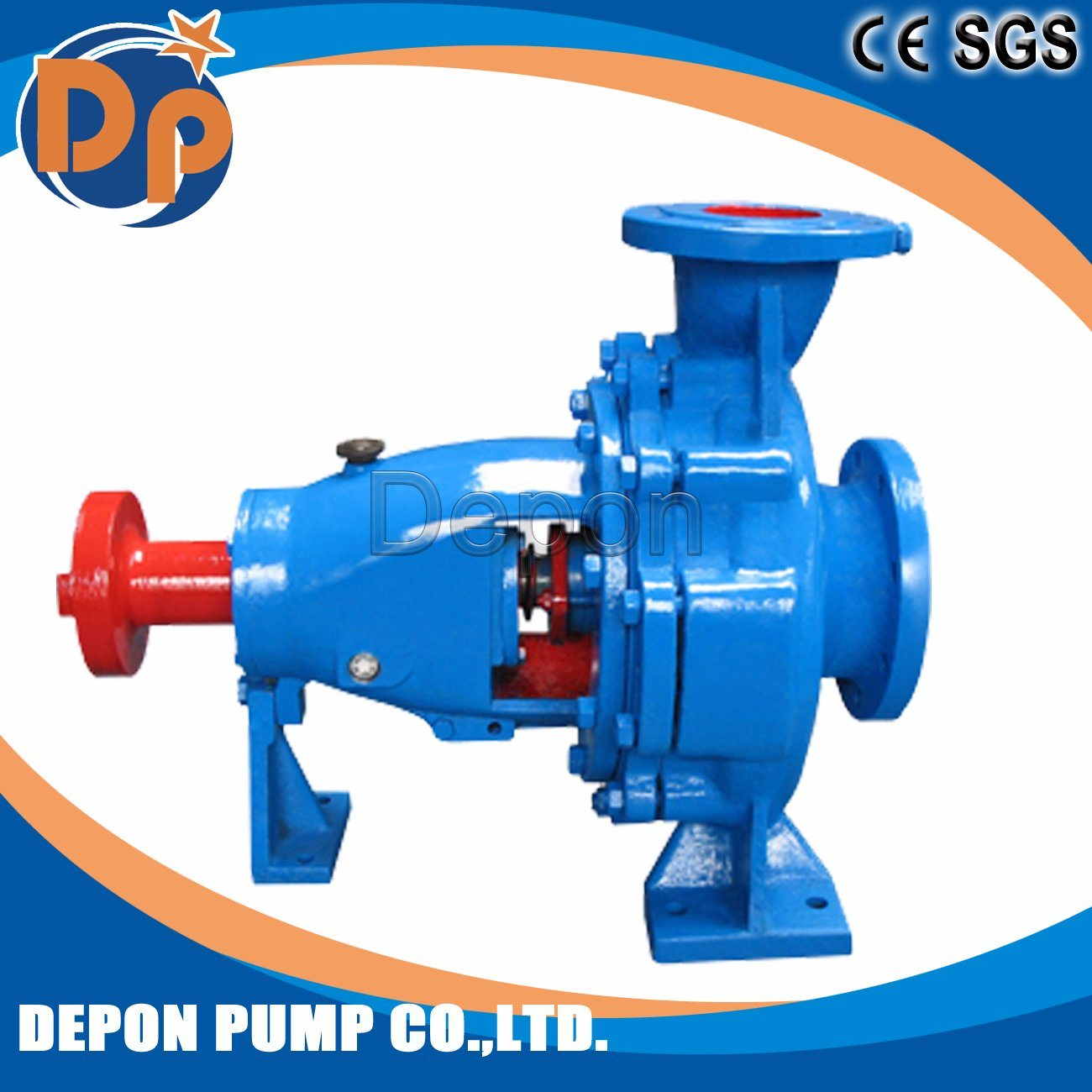 End-Suction Electric Fire Pump Type