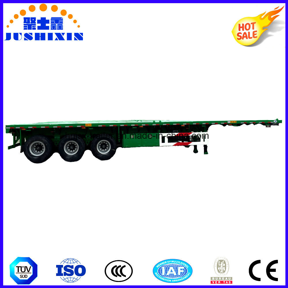 1/2/3/4 BPW Axles 20FT 40FT Container/Utility/Cargo Flatbed/Platform Truck Semi Trailer